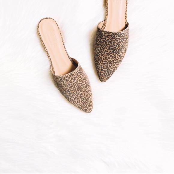 "55b1da85dad003 ABLE Shoes - ABLE ""Marlene"" Leopard Mule"